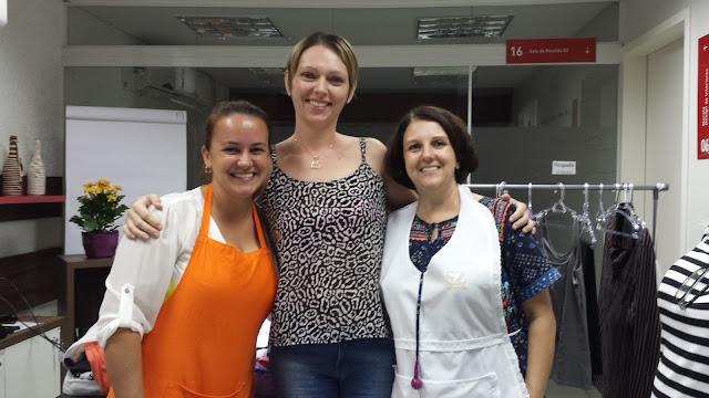 Francynara, Edeltraut e Sandra