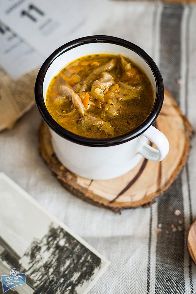 Boczniaki zupa przepis