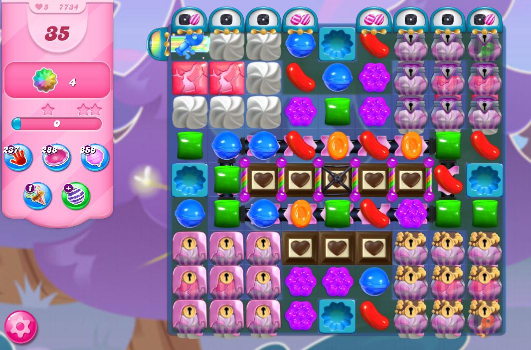 Candy Crush Saga level 7734