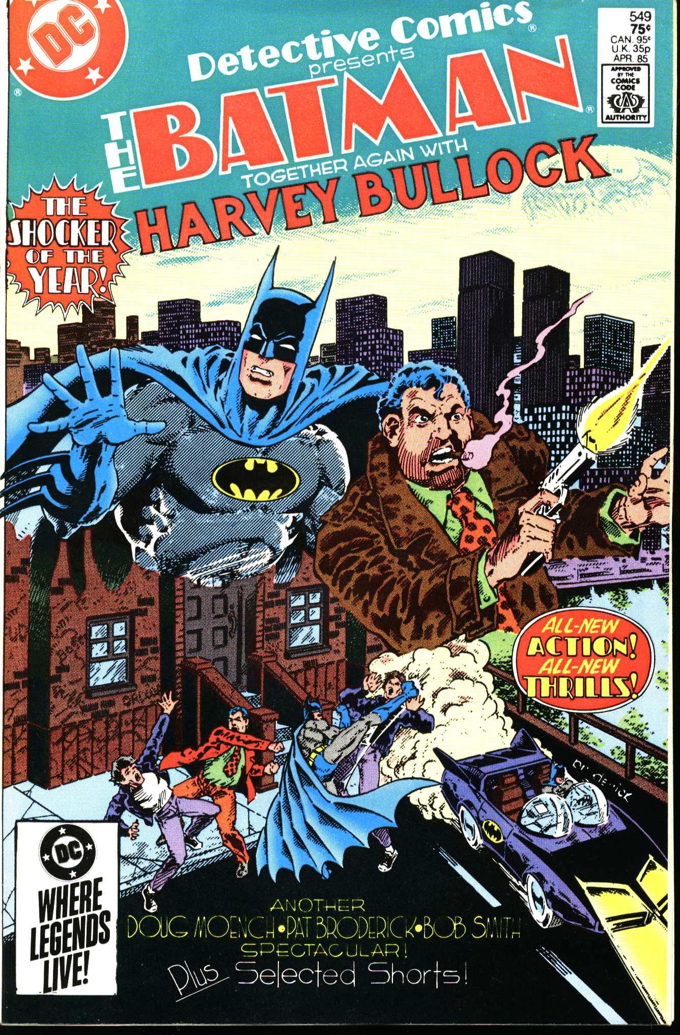 Detective Comics (1937) 549 Page 1