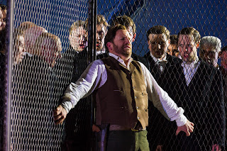 Aldo Di Toro as Edgardo in Lucia di Lammermoor, Opera Holland Park 2012