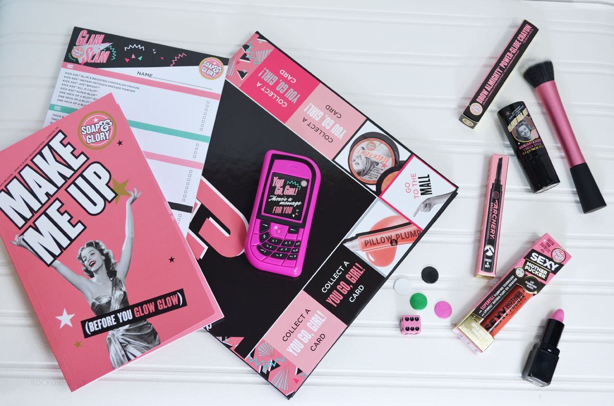 Glam Slam Beauty Game from Soap and Glory on the Rock On Holly Blog