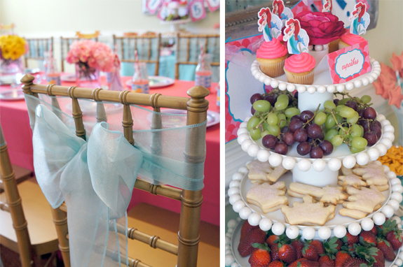 Little Mermaid Tea Party Amys Party Ideas