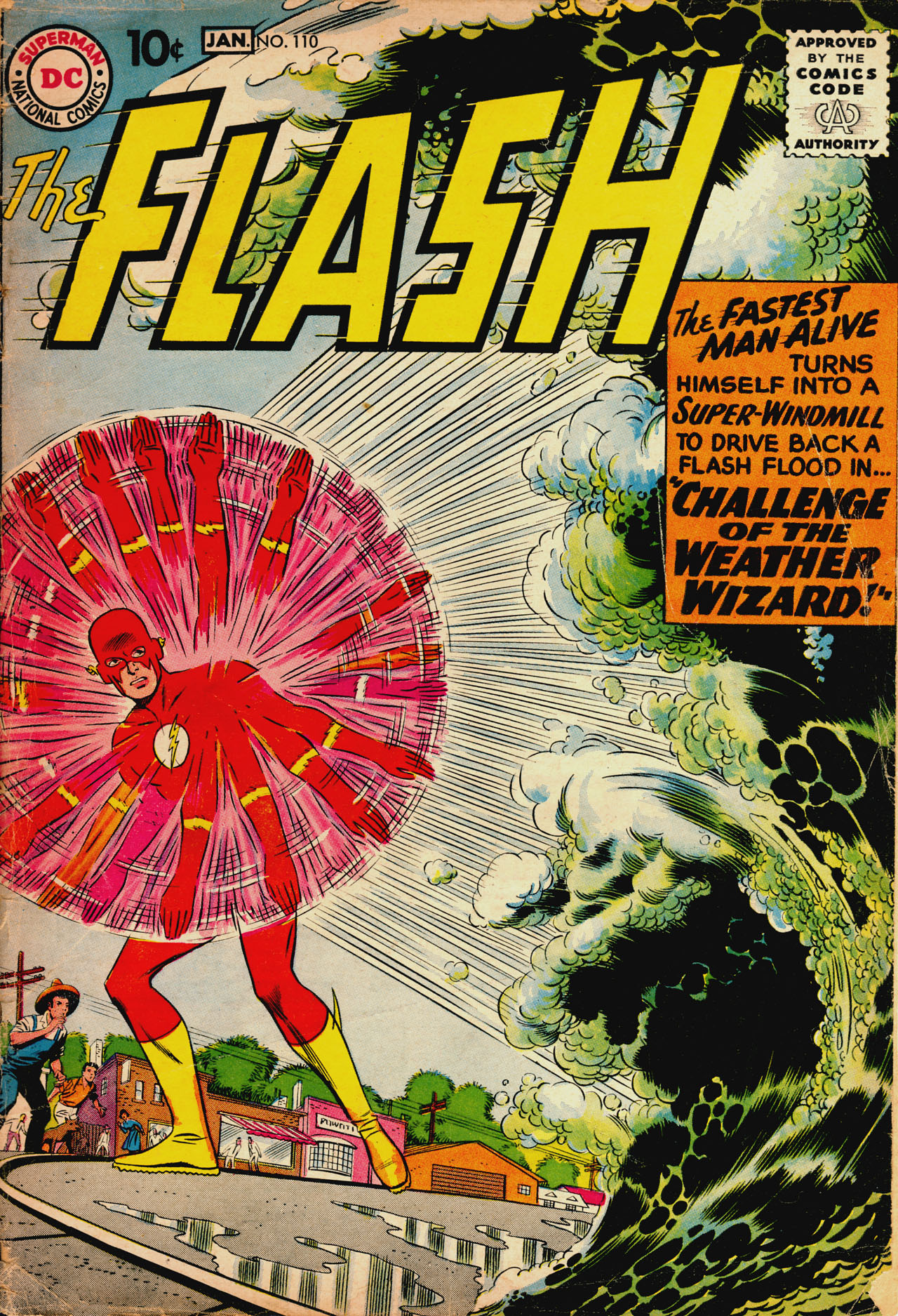 The Flash (1959) 110 Page 1