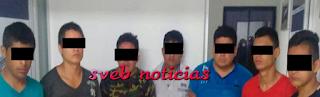 Caen 7 sujetos de Tihuatlan con armas en el Norte del Estado de Veracruz