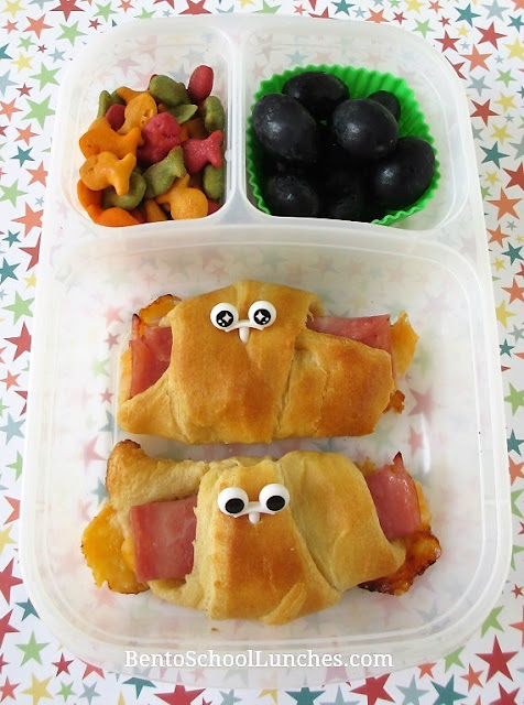 Ham and Cheese Crescents Roll-Ups For Lunch With Recipe