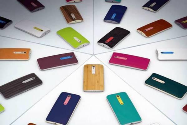 smartphones Moto da Motorola