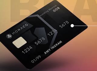 O monaco lança seu primeiro cartão de debito bitcoin e ethereum com a bandeira VISA.