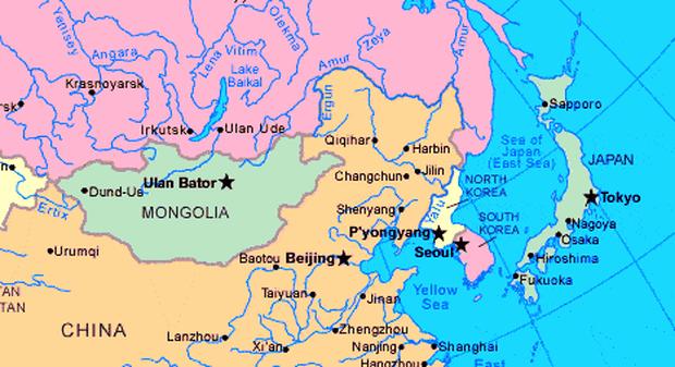 letak astronomis, geografis, dan geologis korea selatan