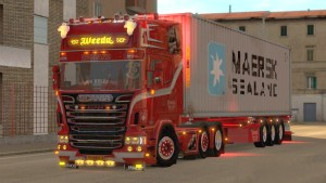 Scania Weeda Sons of Anarchy