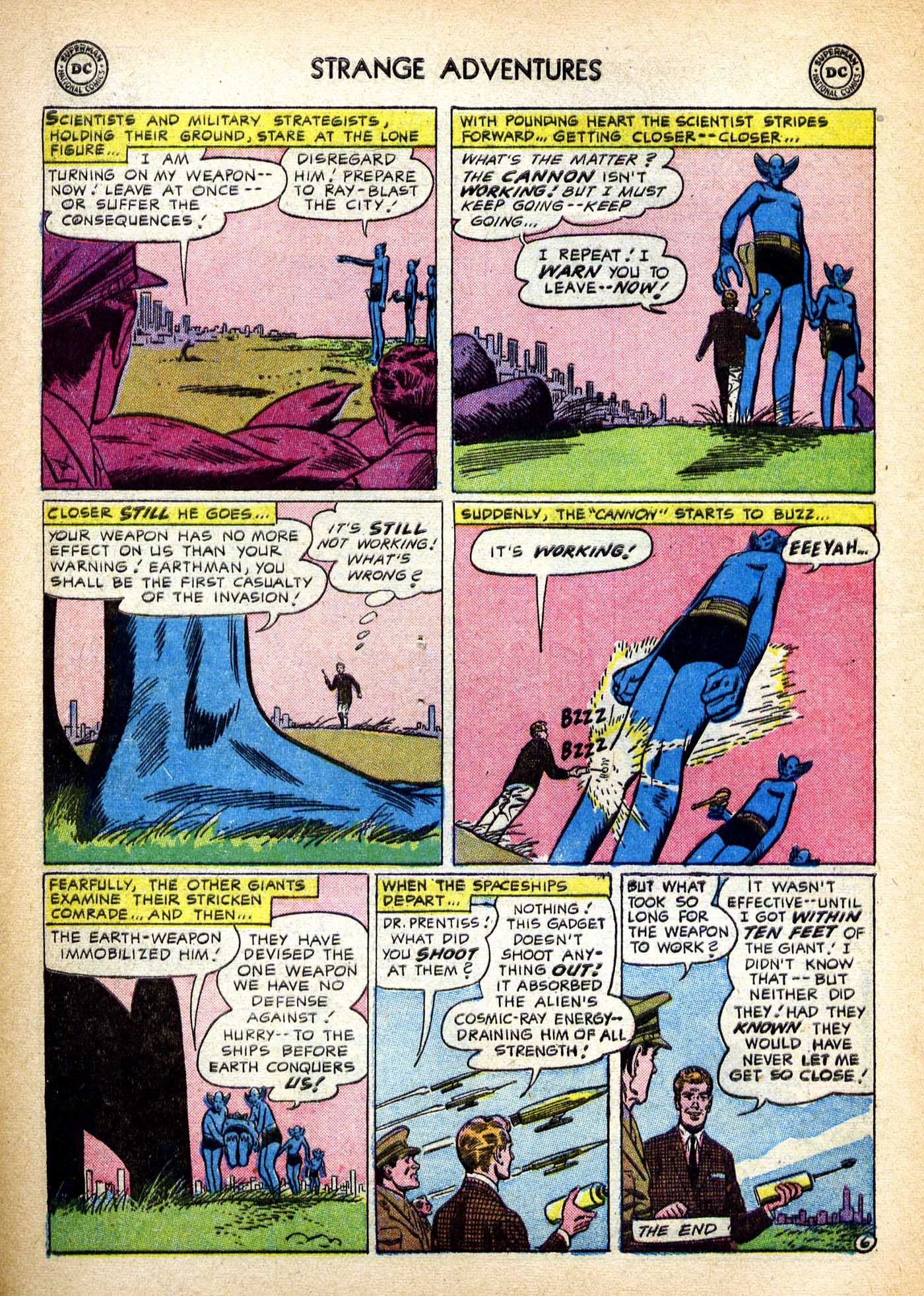 Strange Adventures (1950) issue 82 - Page 7