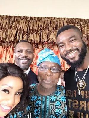 Selfie photos of Rita Dominic and Obasanjo 333