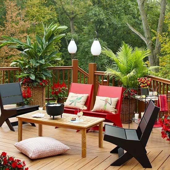 10 fotos de terrazas decoradas colores en casa for Terrazas decoradas