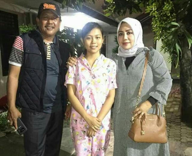 Kunjungi Asrama Lida,  Bupati dan Ketua TP PKK Support Selfi