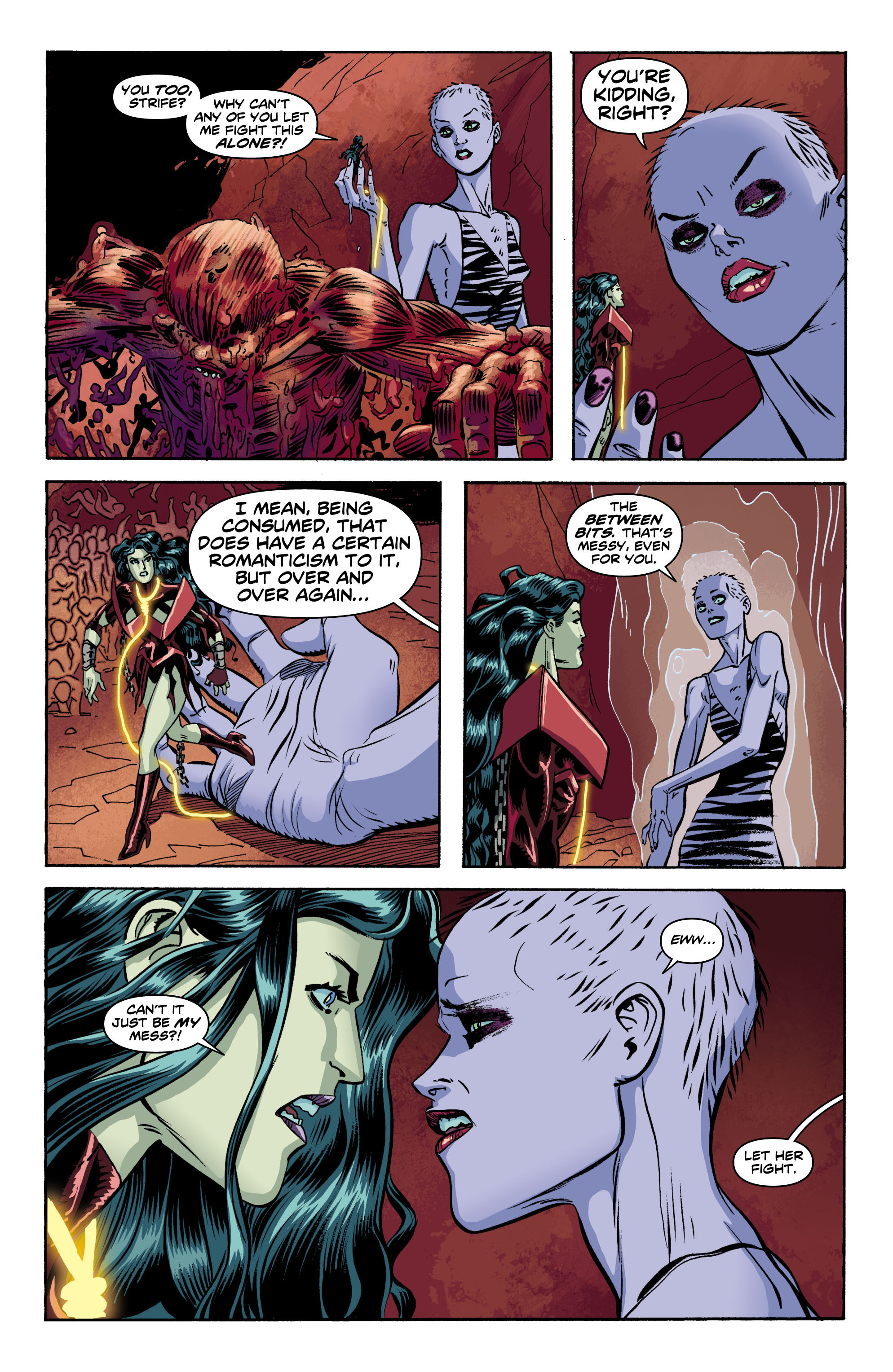 Read online Wonder Woman (2011) comic -  Issue #10 - 14