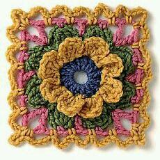 Square floral Maravilhoso