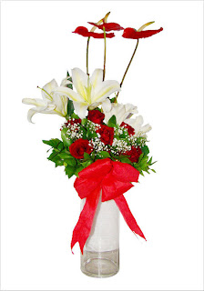buket bunga untuk pacar di bandung