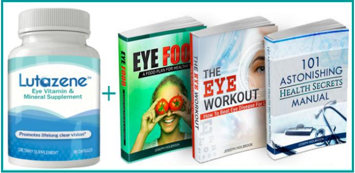 (ID:15828) Lutazene - Eye Vitamin & Mineral Supplement