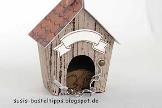 Hundehütte verpackung-suessigkeit mit-stampin-up-framelits-zu-hause