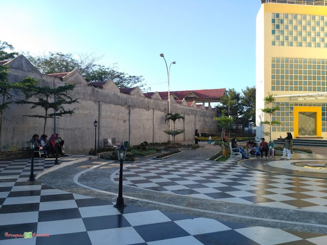 taman di museum daerah deli serdang