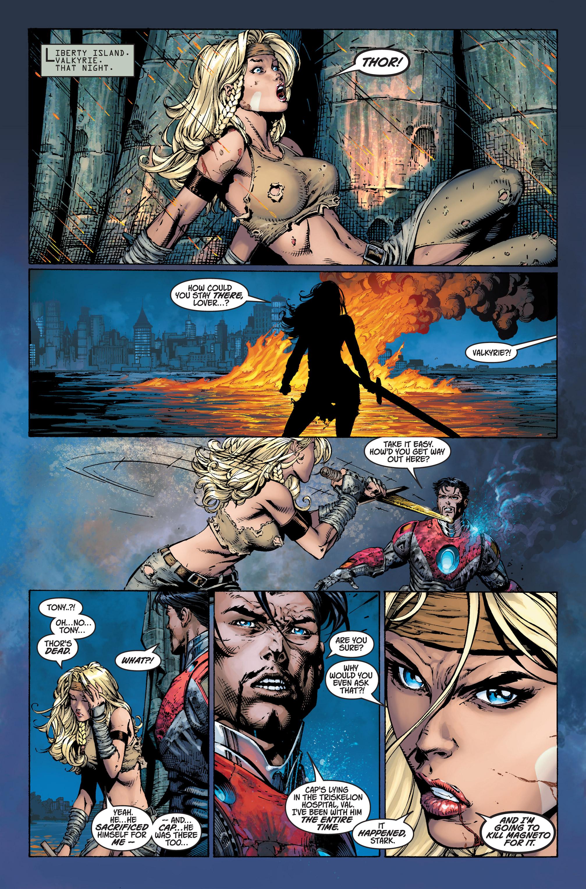 Read online Ultimatum comic -  Issue #3 - 19