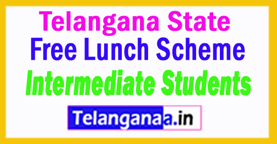 Free Lunch Scheme for Intermediate Students in Telangana
