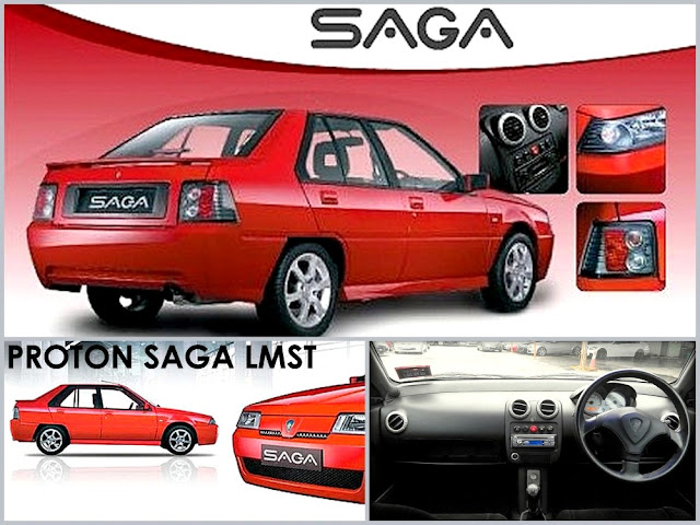 Model Kereta Proton Saga LMST