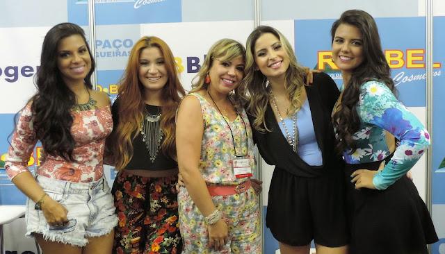 Evelyn Regly, Bianca Andrade, Raka Minelli e Mayara Cardoso