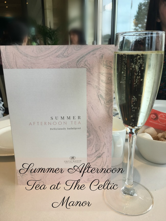 summer-afternoon-tea-at-the-celtic-manor-text-over-omage-of-menu-and-glass-of-procsecco