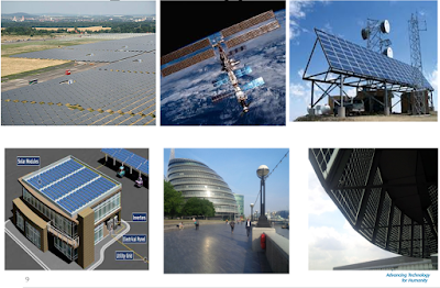 The various large scale applications of PV Solar Technology