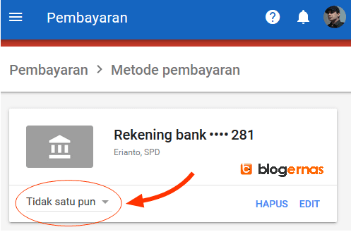 Agar Pembayaran Adsense ke Bank Lokal Otomatis