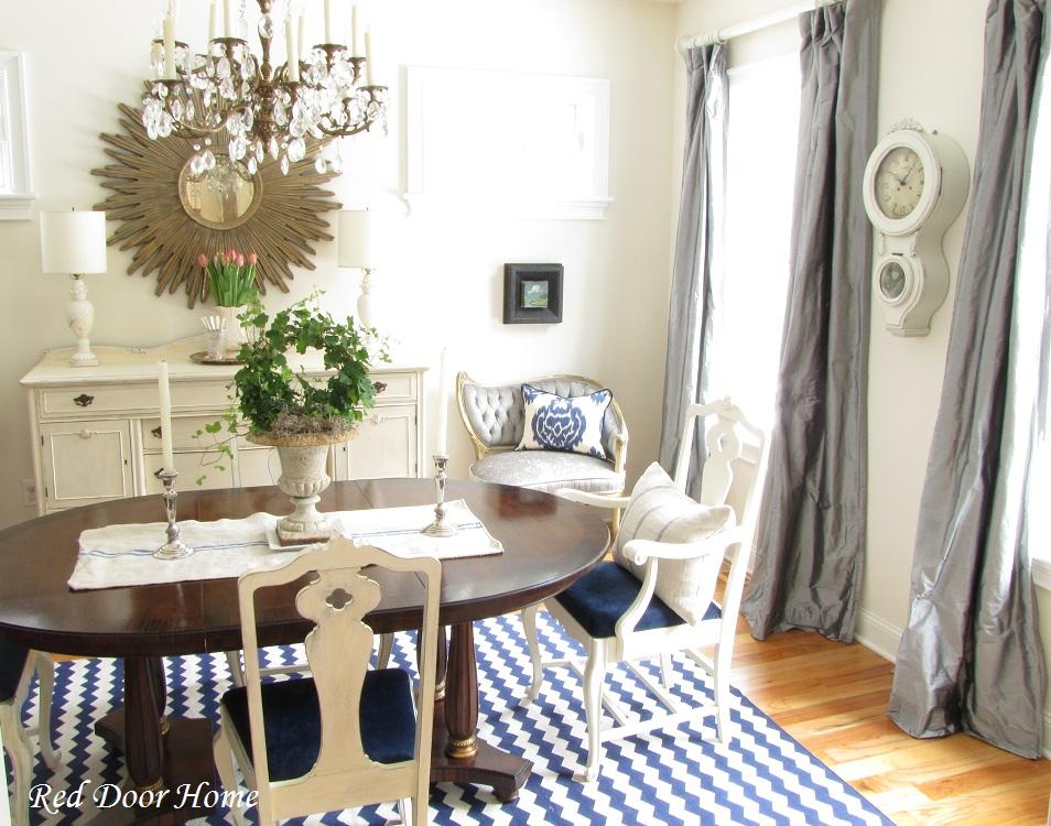 Red Door Home Dining Room Redo The Details