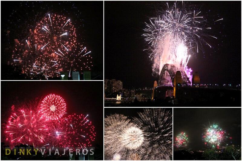 Fuegos de Fin de año en Sydney