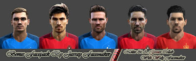PES 2013 Bonus Facepack By Jarray Facemaker