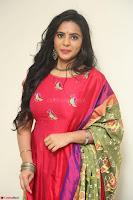 Manasa in Pink Salwar At Fashion Designer Son of Ladies Tailor Press Meet Pics ~  Exclusive 72.JPG