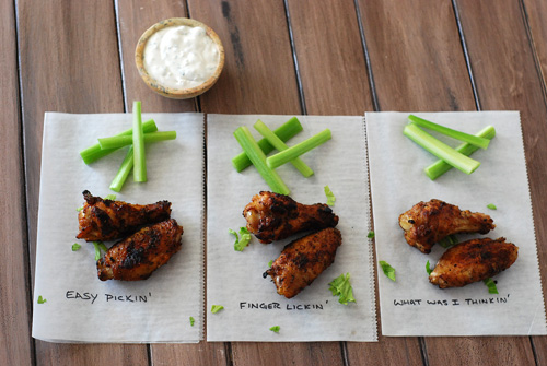 grilled wing taste test