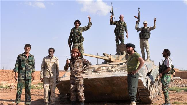 Syrian army forces seize areas in Homs, Dayr al-Zawr
