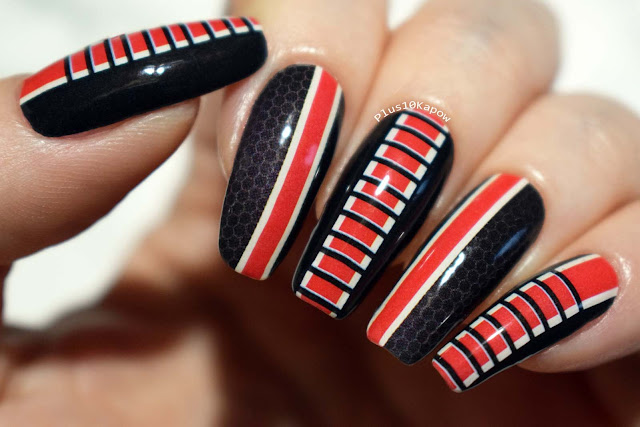 Espionage Cosmetics Sass Effect Mass Effect nerdy nail wraps