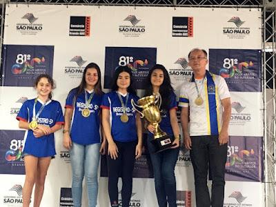 Xadrez de Registro-SP é campeão dos Jogos Abertos do Interior