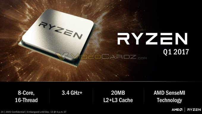 AMD bestows RYZEN brand name to its first ZEN CPUs