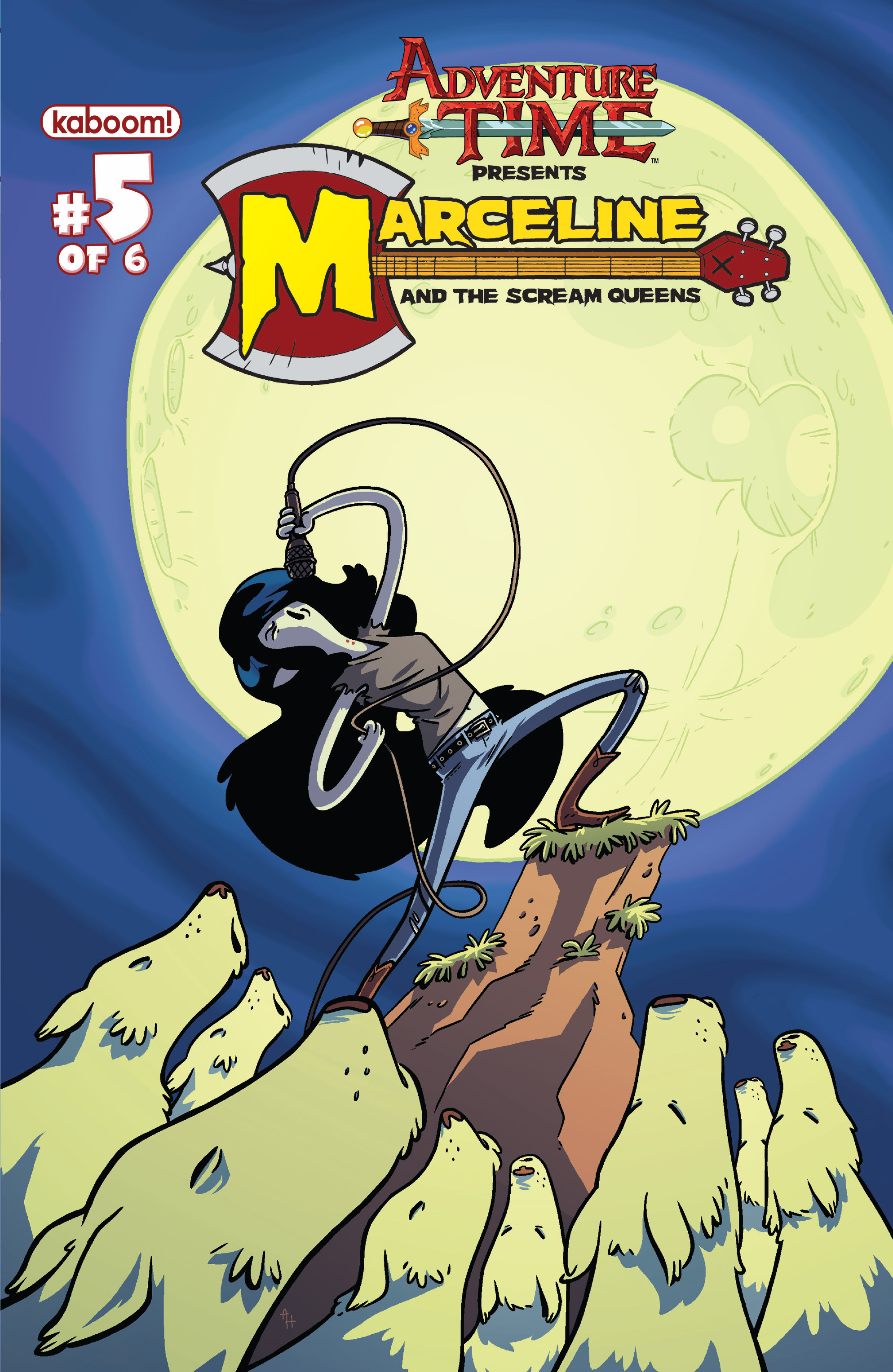 Read online Adventure Time: Marceline and the Scream Queens comic -  Issue #5 - 2