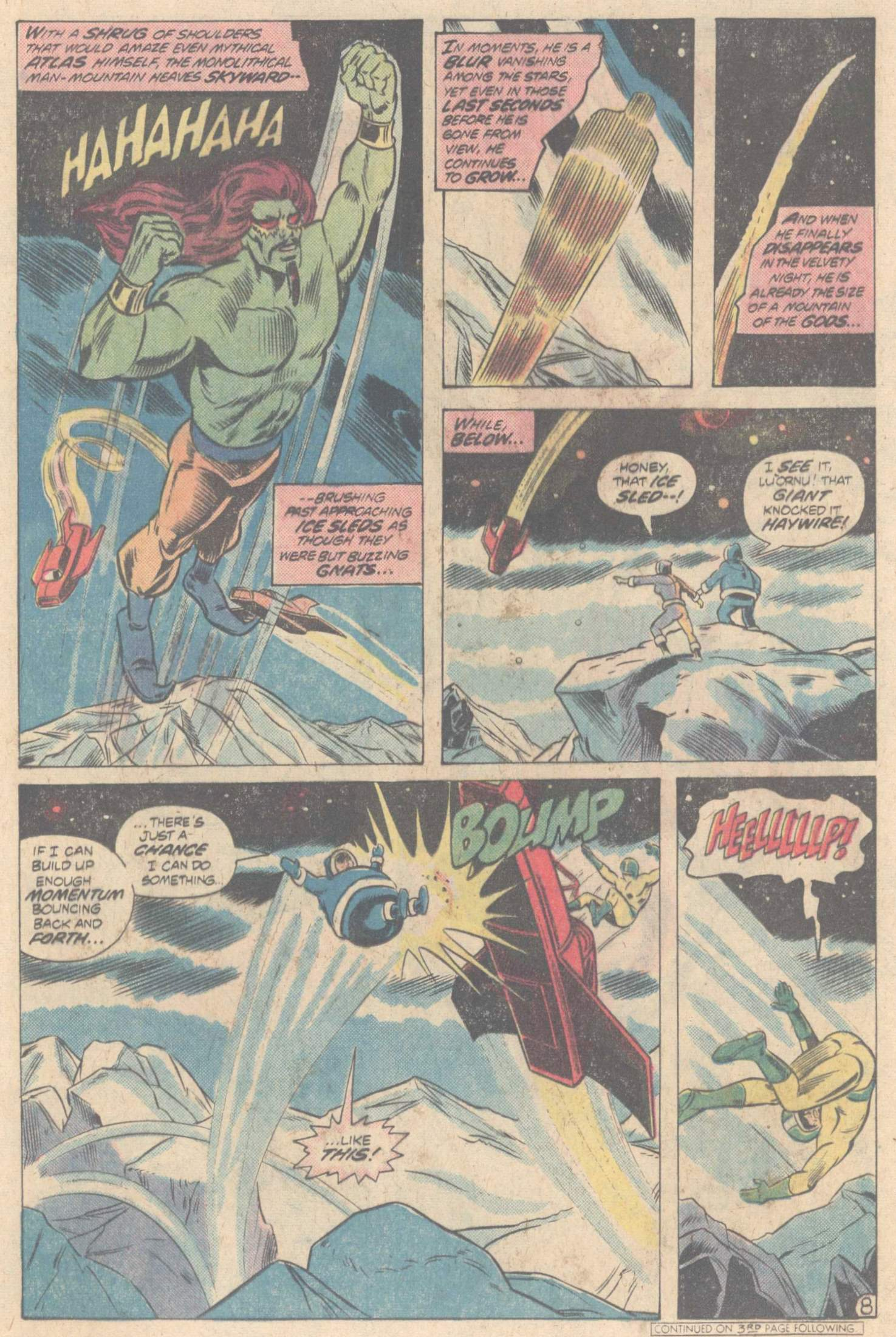 Legion of Super-Heroes (1980) 266 Page 11