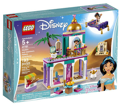LEGO Disney Princess | Princesas Disney 41161 Aventuras en Palacio de Aladdín y Jasmine  Aladdin and Jasmine's Palace Adventures  Producto Oficial 2019 | Piezas: 193 | Edad: +5 años  COMPRAR ESTE JUGUETE