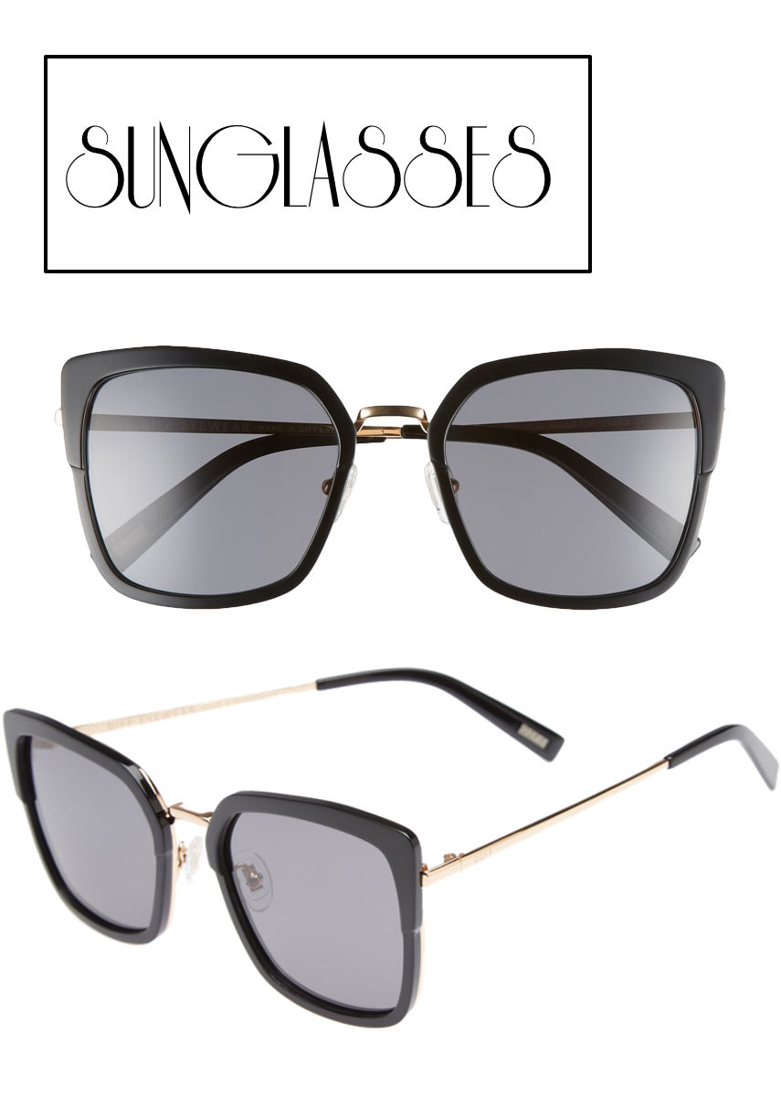 DIFF Skye 52mm Polarized Sunglasses