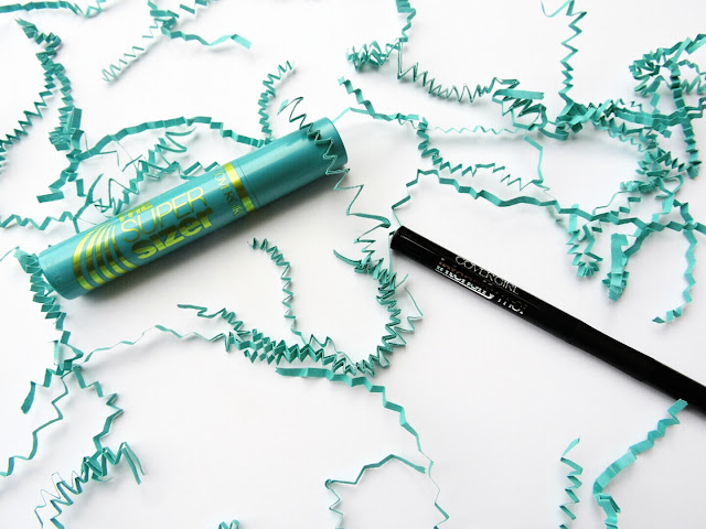 COVERGIRL's Super Sizer by LashBlast Mascara and Intensify Me! Liquid Eyeliner by LashBlast Review  via  www.productreviewmom.com