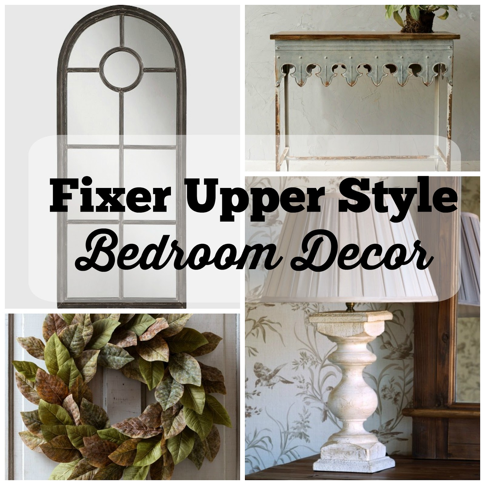 fixer upper style bedroom inspiration the glam farmhouse. Black Bedroom Furniture Sets. Home Design Ideas