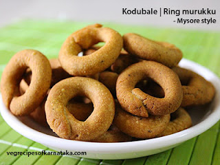 Mysore style kodubale recipe in Kannad