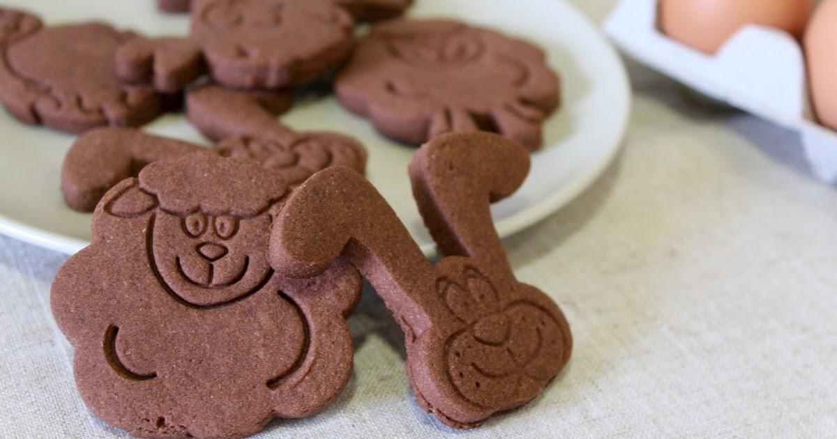 Pascua: Galletas de chocolate (sin gluten ni lactosa)
