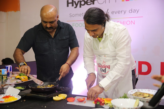 Chef Shailendra Kekade at HyperCITY Hyper Budding Chef Contest - Mumbai ...