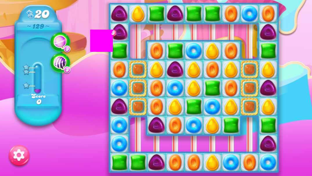 Candy Crush Jelly Saga 129